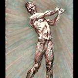 """ S k e t c h - 011   ( Sketch of a John MacDonald Sculpture ) """