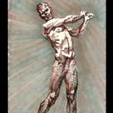 """"""" S k e t c h - 011   ( Sketch of a John MacDonald Sculpture ) """""""