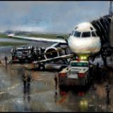 """Leaving on a Jet Plane""  ~  SOLD"