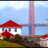 """Fog Off The Presidio"" - SOLD"