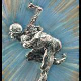 """""""S k e t c h ~ 110  ( Sketch of a John MacDonald Sculpture ) """""""